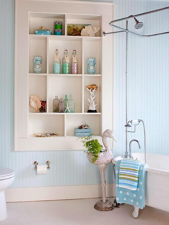 Modern furniture 2014 small bathrooms storage solutions ideas - Small bathroom ideas with tub ...