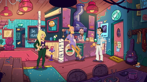 Leisure Suit Larry Wet Dreams Don't Dry PC Full
