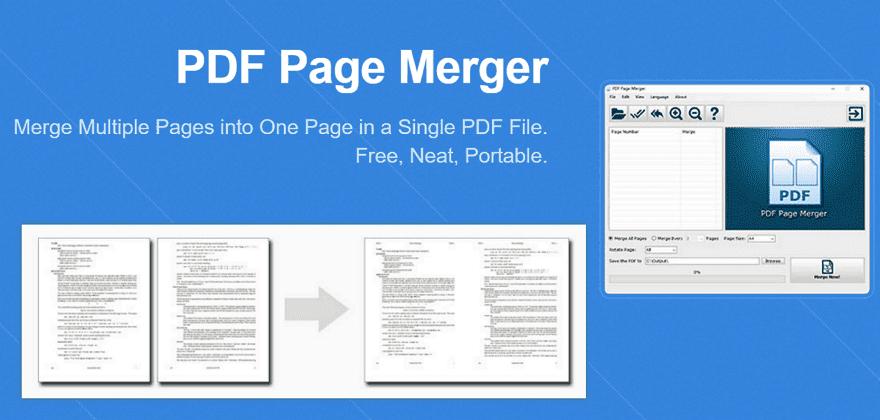 PDF Page Merger 合併多個PDF頁面