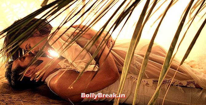 Jay Bhanushali and Surveen Chawla in Hate Story 2