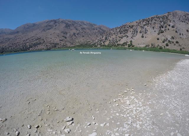 Lago Kournas - Creta, Grécia