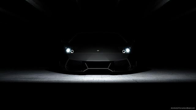 Download 1920x1080 Lamborghini Aventador In Dark Wallpaper