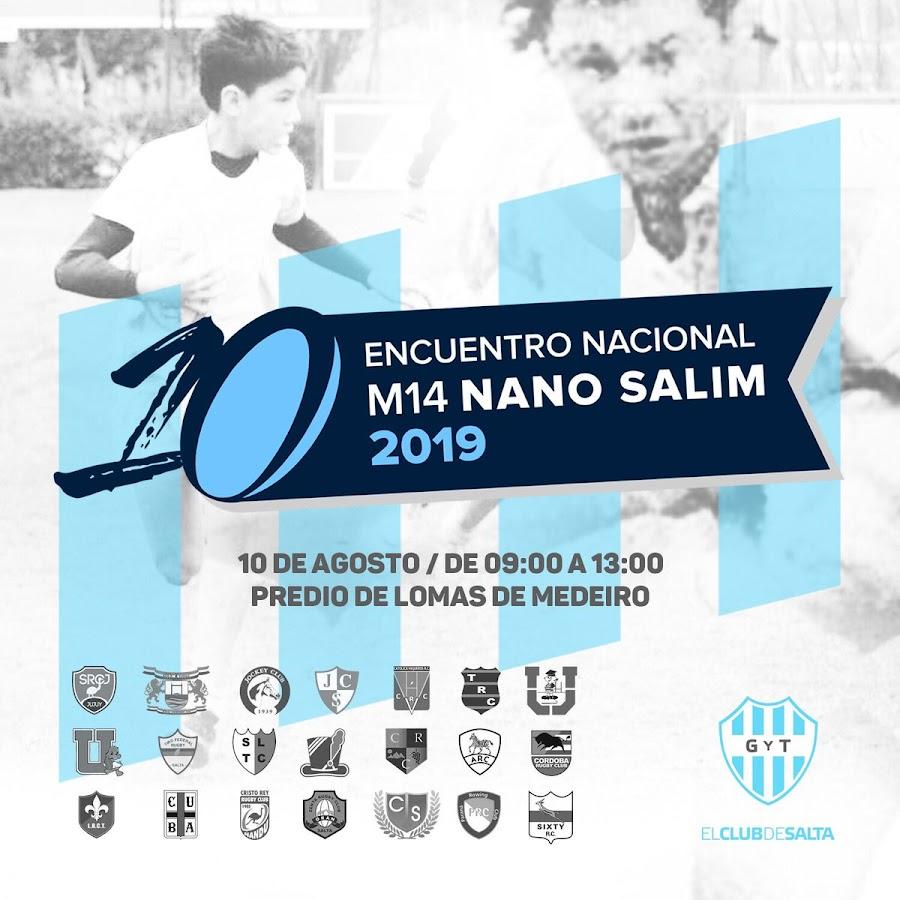 Encuentro Nacional Nano Salim 2019 #NanoSalim #M14