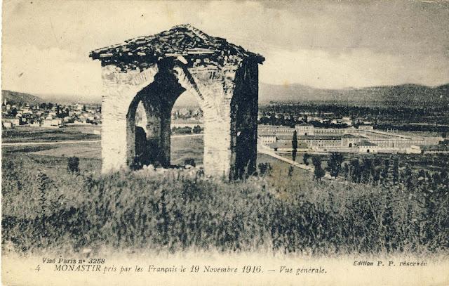 Panorama of Bitola from Tumbe Coffee
