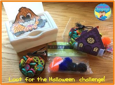 The Halloween Challenge Loot! Looks Like Language