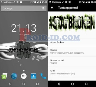 Custom Rom Broken OS V6.0 Andromax A (Fix Bug) Terbaru A16C3H