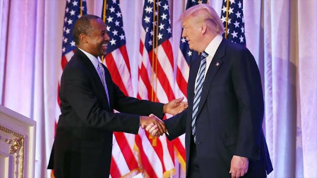 Trump propone a Ben Carson como secretario de Vivienda