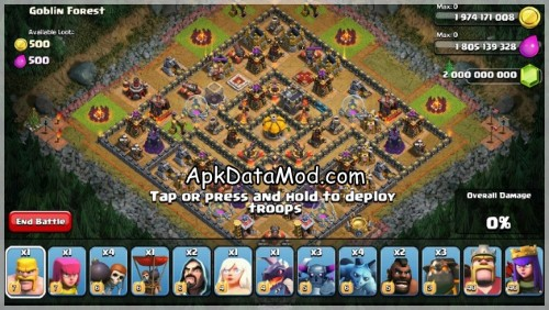 Clash of Clans Fight Against Them All Apk Mod