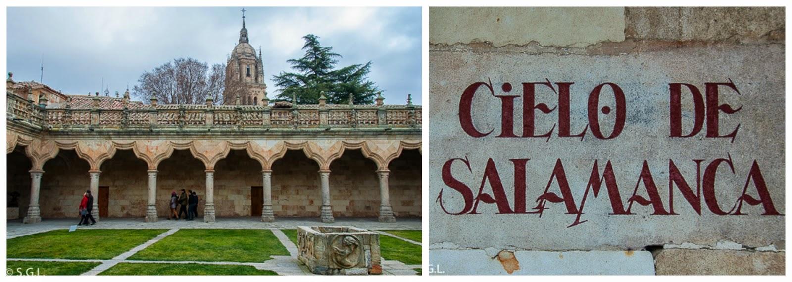 Escuelas menores y el cielo de Salamanca