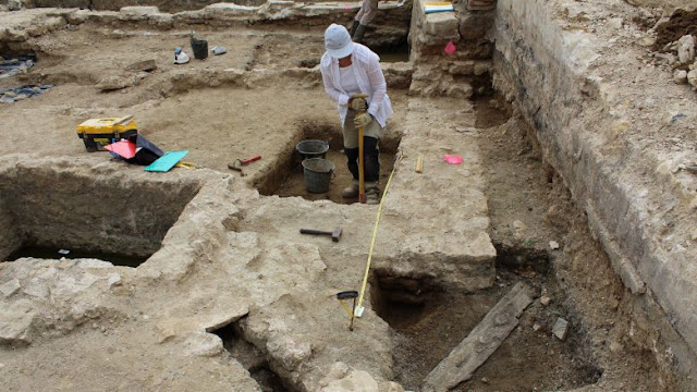 14th century wheeled watermill discovered in northeastern France