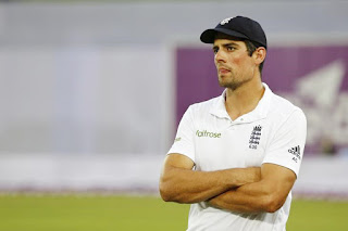 England's Captain After the Defeat in the Second Test