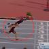 Atleta podía perder carrera y decide lanzarse de cabeza a la meta para ganar [VIDEO]