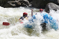 Justin White Water Rafting