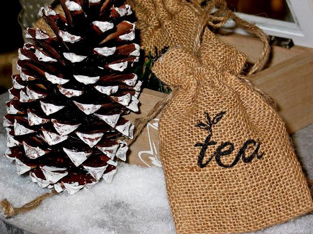 zimowa herbatka