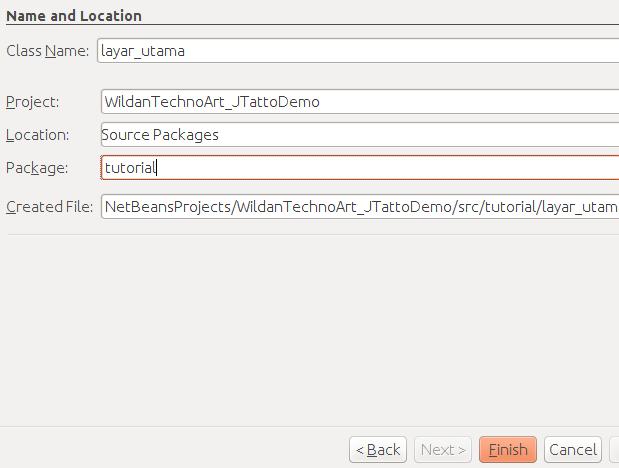Membuat Class JFrame pada Netbeans IDE