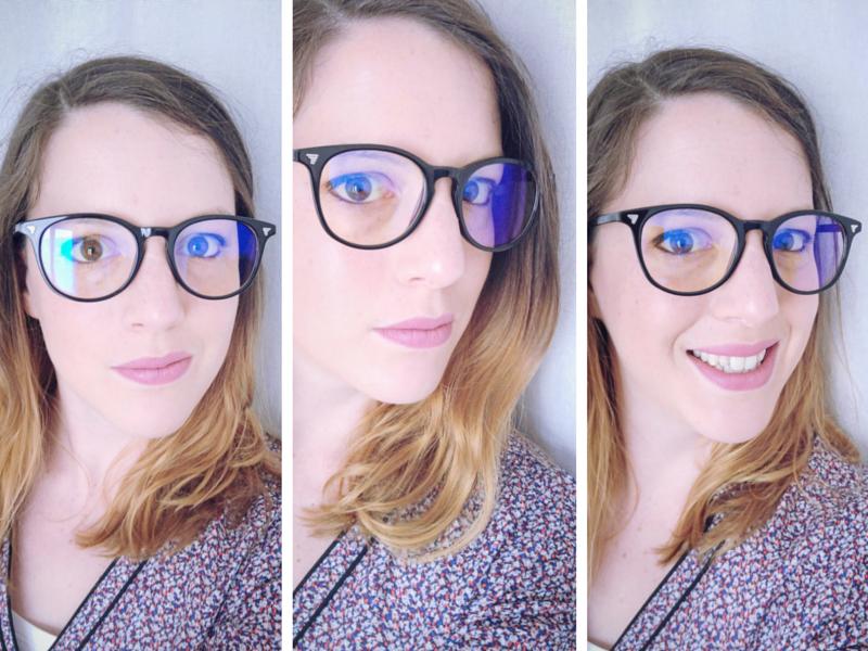 ... je ne suis pas myope, ni astigmate, j ai besoin d une faible  correction, mais suffisamment pour toujours avoir mes lunettes à portée de  main. dc42bead5f1