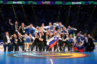 BALONMANO (Mundial masculino 2017) - Eslovenia remonta para colgarse su primera medalla mundialista