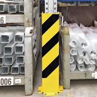 Protección puntales de estanterías