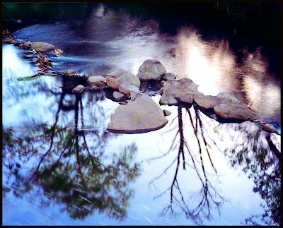 Niles Canyon, Alameda Creek, by Bennett Hall