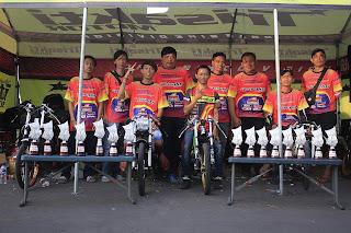 Trisakti Motor Borong Piala di Kejurnas Drag Bike Seri 4 Sirkuit Parcel Takalar 2018