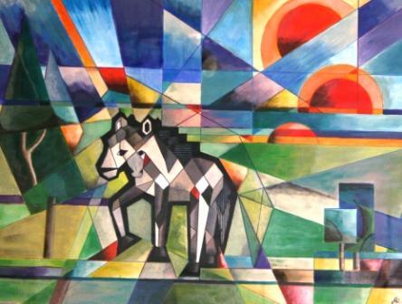 Era Kubisme Pada Seni  rie fabian