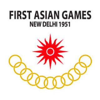 Logo Asian Games Ke 1 Tahun 1951 di New Delhi, India