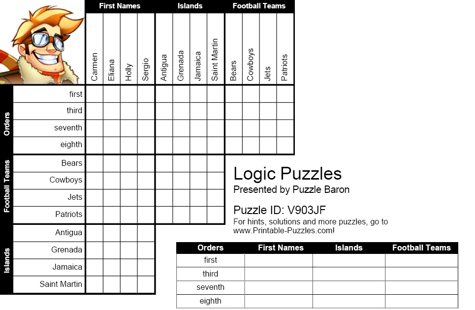 IH Milan Students' blog: Logic Puzzle No.1