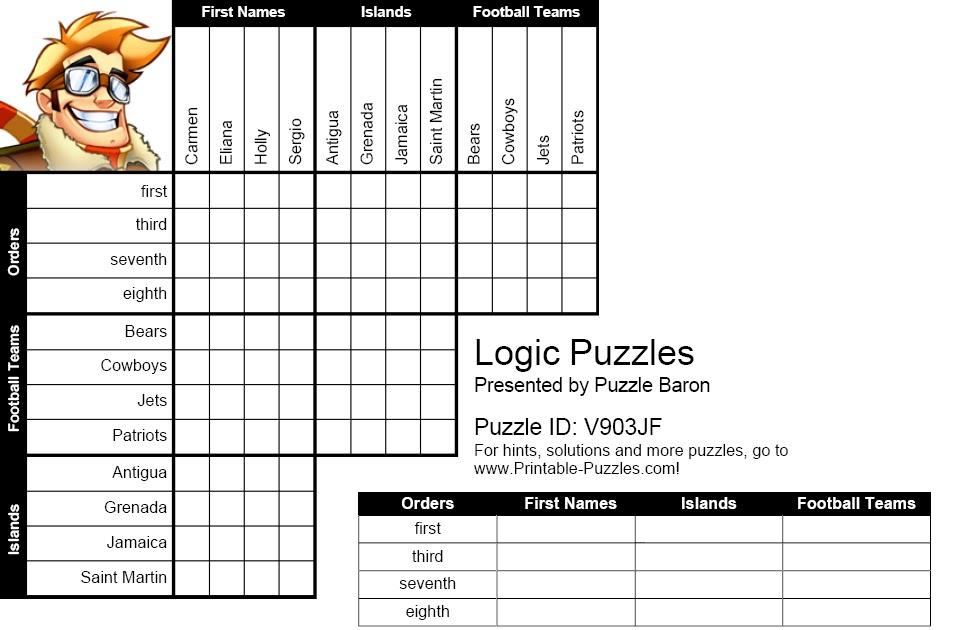 IH Milan Students' blog: Logic Puzzle No.1