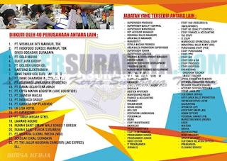 Datang & Hadirilah Bursa Kerja Terbuka Disnaker Kota Surabaya Terbaru Mei 2019 GRATIS !!!