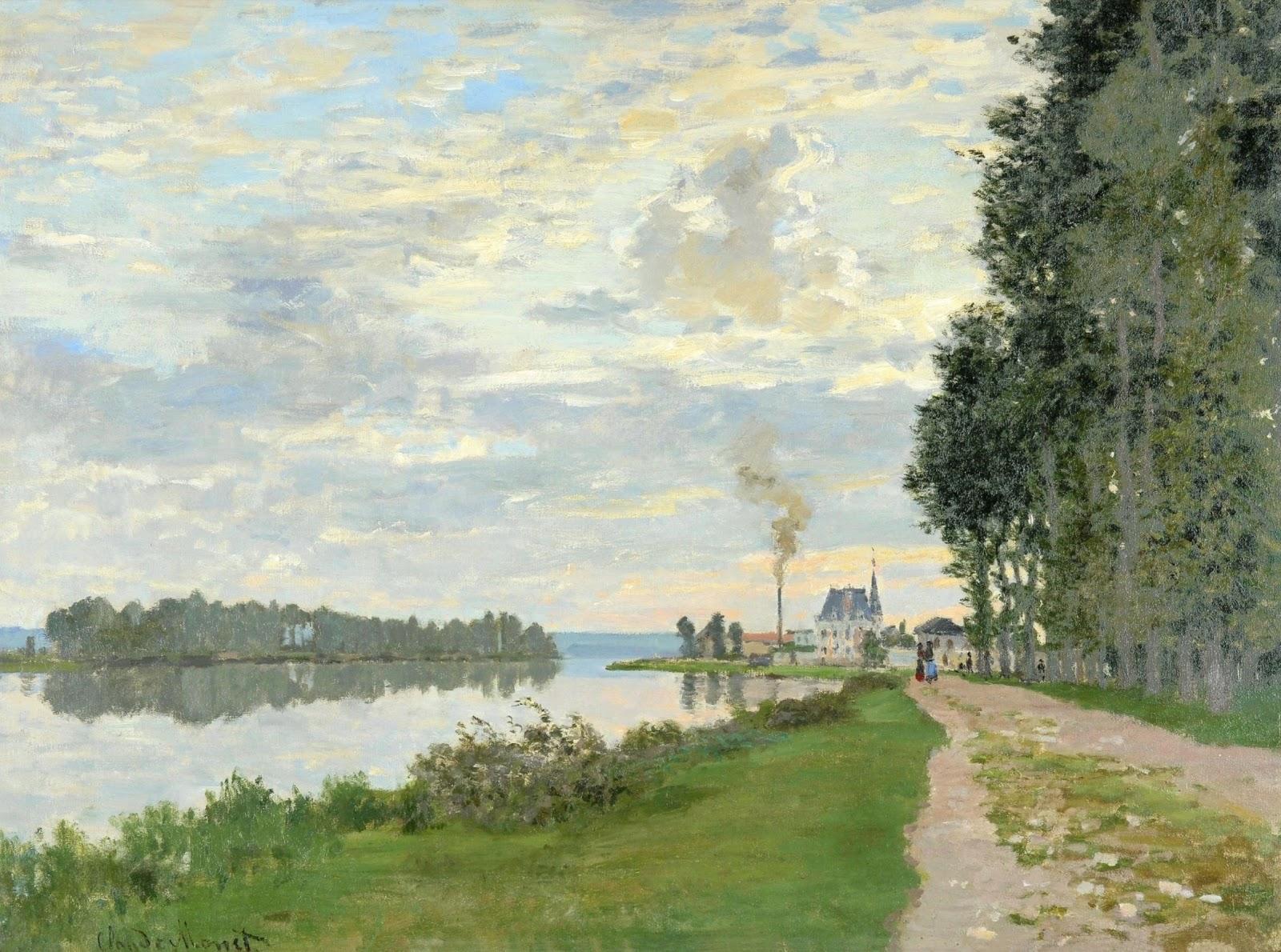 Claude Monet | Promenades / Le passeggiate | Tutt'Art@ | Pittura • Scultura  • Poesia • Musica