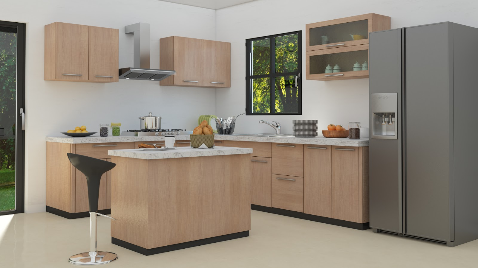 Modular Kitchen Design For L Shape Design Ideas For L Shaped Kitchens Interior Decor Blog