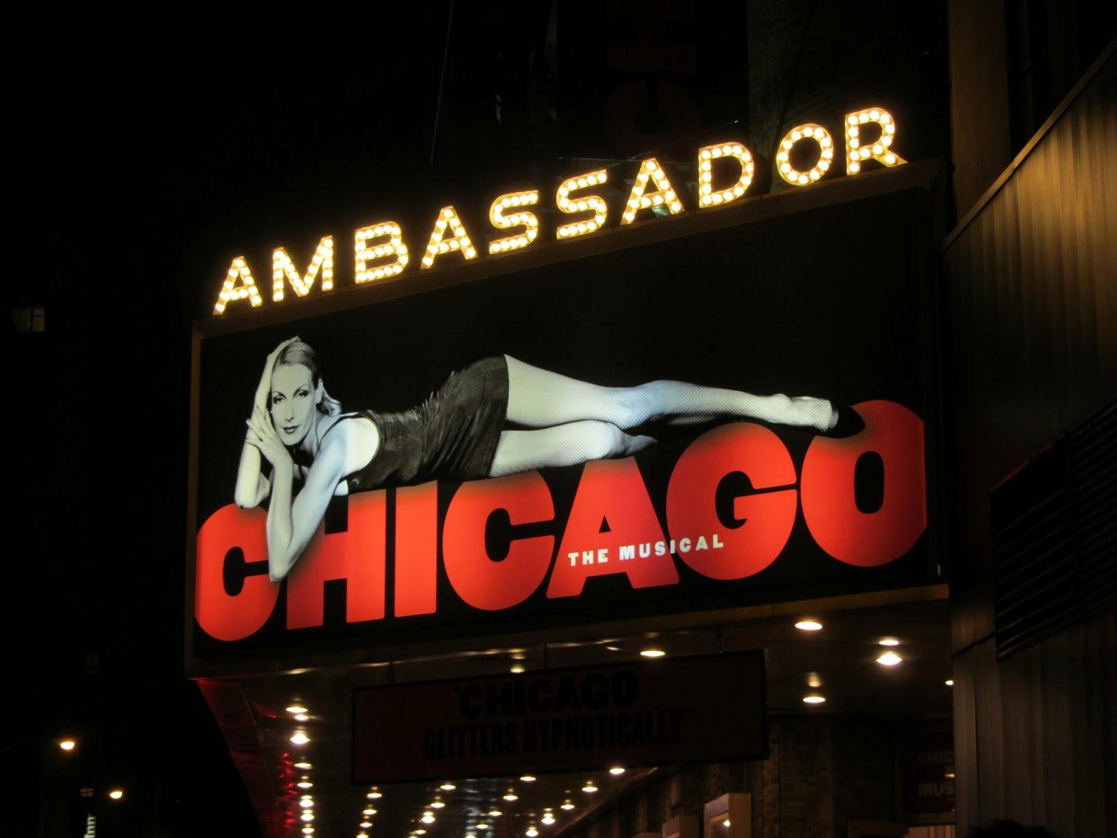 Ver um MUSICAL NA BROADWAY - Chicago, um musical da Broadway   EUA