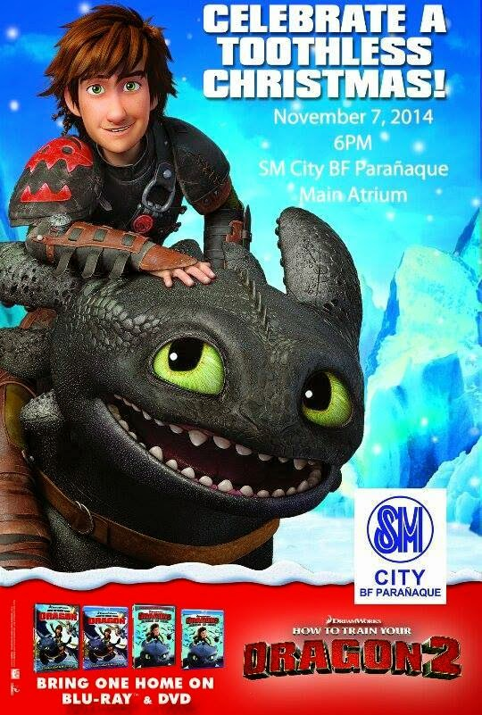 all kids and kids at heart are invited at sm city bf paraaque to experience an epic adventure this holiday season transform your ordinary christmas - How To Train Your Dragon Christmas