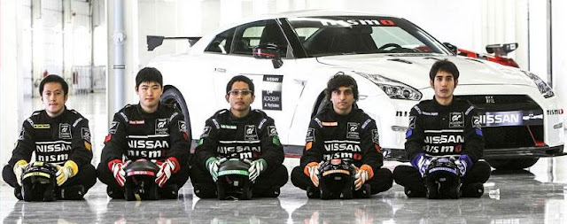Nissan GT Asia Race Camp Finalists 2015
