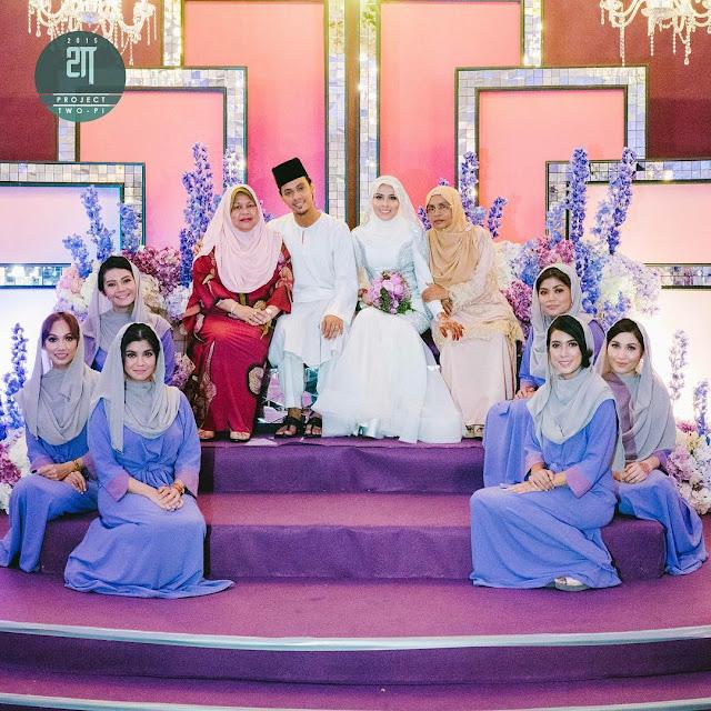 gambar perkahwinan jihan muse