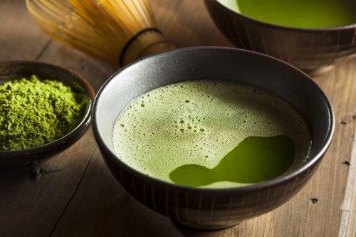 El té verde es poderoso para realizar un tónico