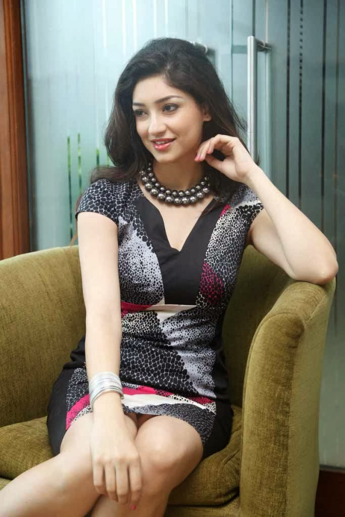 Tanvi Vyas Photos Press Meet Nenem Chinna Pillana Telugu