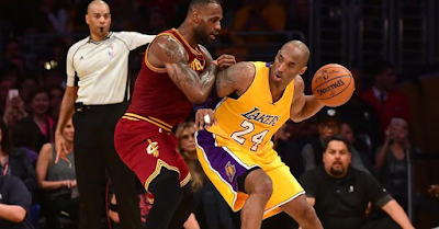 Kobe Bryant and Lebron James mutual respect