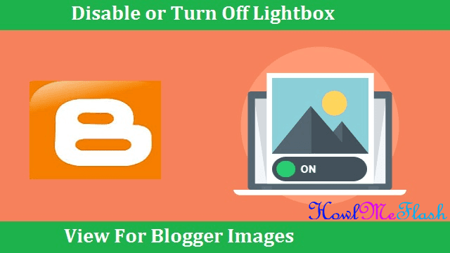 show images without dark background on blogger