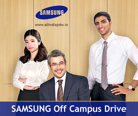 Samsung Off Campus 2018 Drive For Freshers | Online