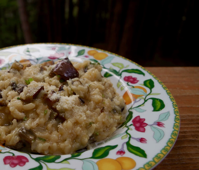 morsels & sauces: Ottolenghi's Lemon and Eggplant Risotto