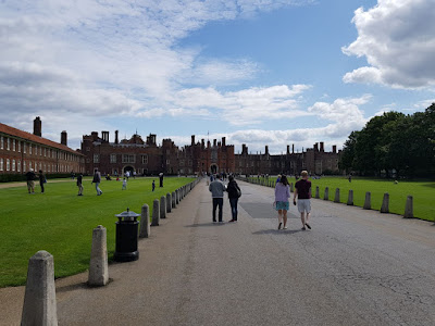 Vizită la Hampton Court Palace!!!