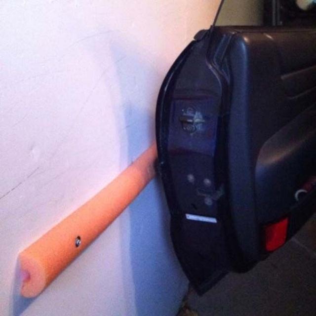 Protector de pared para para la puerta del coche