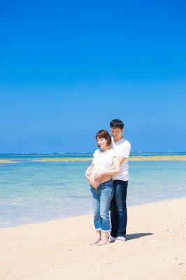 マタニティフォト 沖縄 海