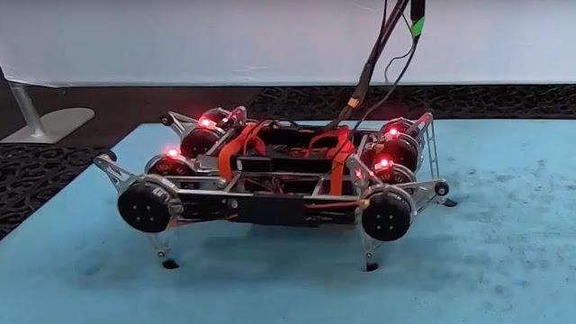 Ученые Google создали восхитительного четвероногого робота под названием «Радужный рывок», который научился ходить без помощи человека
