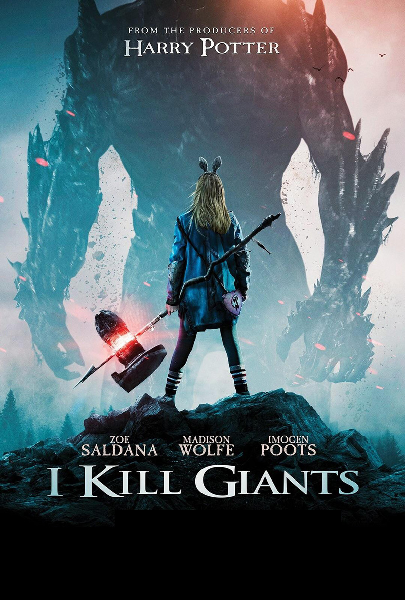 I Kill Giants [2017] [DVDR] [NTSC] [CUSTOM HD] [Subtitulado]