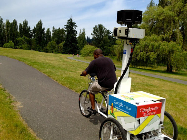 Job - Google photographer on bike