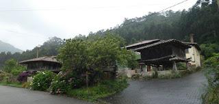 Asturias, pueblo de Cuevas.