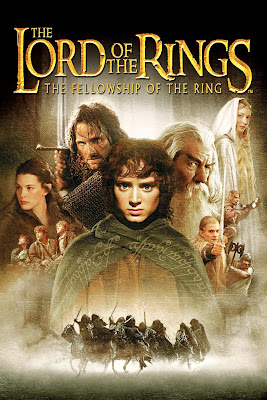 Poster Of Free Download The Lord of the Rings: The Fellowship of the Ring 2001 300MB Full Movie Hindi Dubbed 720P Bluray HD HEVC Small Size Pc Movie Only At worldfree4u.com