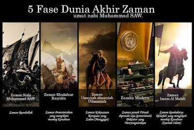 5 Fase Akhir Zaman yang akan dihadapi umat muslim menjelang kiamat berikut hadistnya